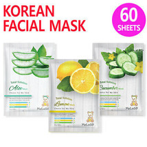 [ Meloso ] Korean Facial Sheet Mask for Moisturizing Skin Care ( 60 Shee... - $28.71