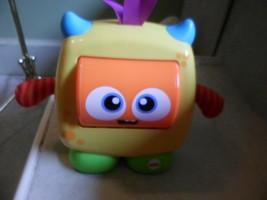 Fisher-Price Fun Loving Monster  baby toy spinning eyes. musical  EUC Sm... - $14.63