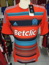 NEUF Maillot OM Olympique Marseille 2011/12 (L) Adidas Formotion Porté Jersey - $42.17