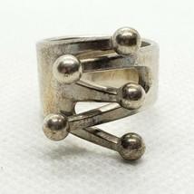 AGE ANNA GRETA EKER NORWAY DESIGN ND STERLING 925 RING MOD JESTER SILVER... - $69.29