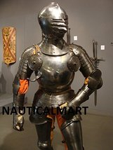 NauticalMart 1515 - 'Field Armour' Medieval Rusting Wearable Suit Of Armor  - $1,499.00