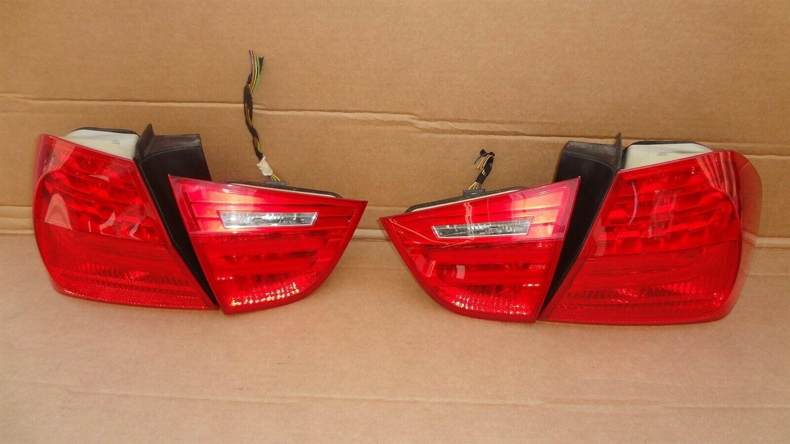 09-11 BMW E90 4dr Sedan Taillight lamps Set LED 328i 335i 335d 328 335 320i