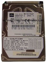 Lot of 20 MK1517GAP Toshiba HDD2157 15GB 2.5in IDE Drive Tested Free USA... - $250.00