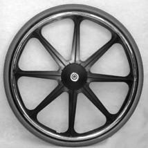 """24 x 1 3/8"""" Wheelchair 8 Spoke Mag Wheel - 1/2"""" axle (Pair) - $175.00"""