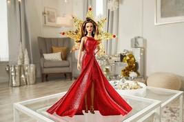 Barbie Teresa Doll Brunette Girls Children Pretend Play Toy Red Dress Go... - $21.64
