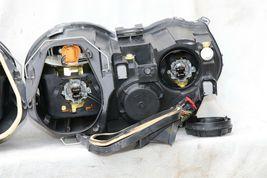 04-07 Jaguar XJ8 XJR VDP Headlight Lamp HALOGEN Set L&R POLISHED image 12