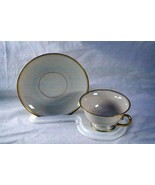 Franciscan Merced Gold Band Footed Cup And Saucer Set #301 - $8.99