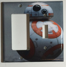 Star Wars BB8 BB-8 Light Switch Power Duplex Outlet Wall Plate Cover Home decor image 5