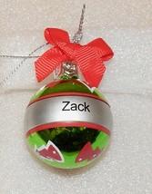 "Christmas Keepsake Ornaments Green Ganz 2"" x 1 1/2"" You Choose Many Name... - $5.49"