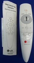 Genuine OEM LG AN-MR3005 Magic Motion Smart TV Remote Control White Engl... - $64.99