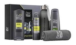 Dove Men+Care Gym Essentials Mens Holiday Gift Set, Sport Scent Body Wash and De - $46.77