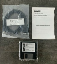 Sanyo 8 pin To VGA Video Input/Output Cable LCD Projector Cable 1AV4W20B08000  - $15.79