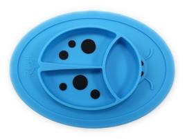 Silicone Placemat Mini - Baby Plate - Toddler Ladybug Feeding Mat - $2.96