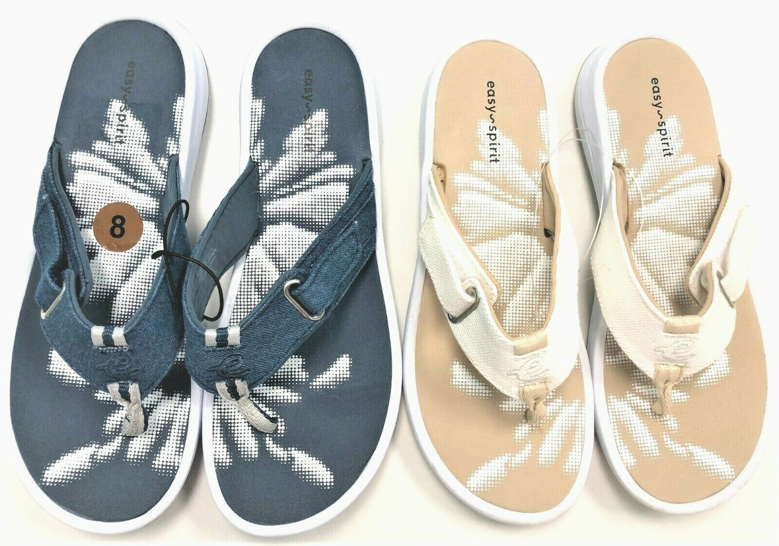 Easy Spirit Womens Drifts 7 Adjustable Strap Thong Flip Flop Sandals NEW $59 - $52.00