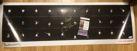 Jon Heder SIGNED Napoleon Dynamite Poster 36x12 JSA - $296.99