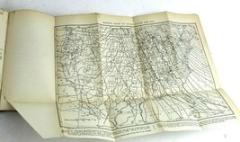 Plane Surveying Book & Isogonic Chart Map of United States 1910 - $29.42