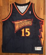 Authentic 1997-98 Golden State Warriors Latrell Sprewell Road Blue Jerse... - $399.99