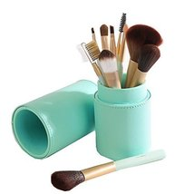 Completed Makeup Brushes Tool for Face and Eye 10 Pieces Portable - $31.86