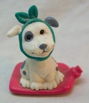 "Hallmark 1994 Merry Miniatures GET WELL SOON PUPPY 1 1/2"" Plastic MINI F... - $16.34"
