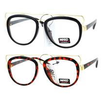 SA106 Nerd Wire Horn Rim Double Frame Vintage Aviator Eye Glasses - $12.95