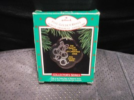 "Hallmark Keepsake ""12 Days Of Christmas"" 1988 Acrylic Ornament NEW See D... - $8.86"