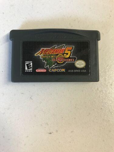 MEGAMAN Mega Man Battle Network 5: Team Colonel Nintendo Game Boy Advance 2005