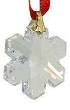 Swarovski 25mm Clear Crystal Snowflake Prism image 3