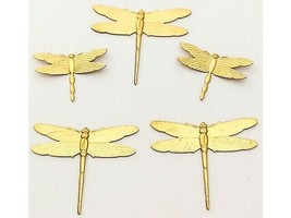 Dragonfly Charms, Set of 5