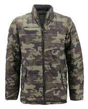 Men's Reversible Camo Lightweight Insulated Quilted Packable Puffer Zip Jacket image 15