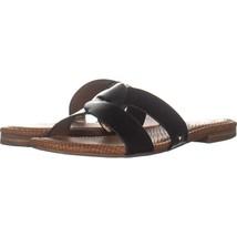 Circus Sam Edelman Clover Slide Sandals 334, Black, 8.5 US / 38.5 EU - $21.88
