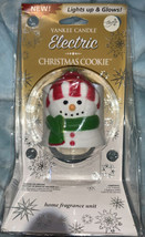 Yankee Candle Christmas Snowman Electric Home Fragrance Unit Lights Up G... - $16.53
