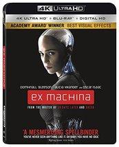 Ex Machina [4K Ultra HD + Blu-ray, 2016]
