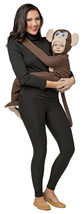 Baby/Infant Size 3-9 Months Huggable Monkey Keeps Baby Safe For Busy Mom - $39.55