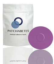 Adhesive Patches, 20 Count, Waterproof, CGM Tape Purple