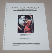 Destiny Waterhouse Art Cross Stitch Collectibles Chart WA-01 Woman Lady ... - $11.39
