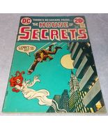 Vintage The House of Secrets Comic Book January 1973 No 104 DC - $6.95