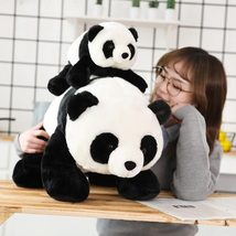 Cute Baby Large Size Panda Bear Plush Stuffed Animal Doll Animals Toy Pillow Car image 3