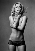 """Britney Spears Poster 13x19"""" Semi-Nude Black And White - $14.22"""
