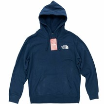 New The North Face Red Box Pullover Hoodie Blue Wing Teal Graphic Logo - $47.99