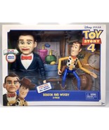 NEW Toy Story 4 Benson and Woody 2 Pack Exclusive Movie Edition Disney - $37.95