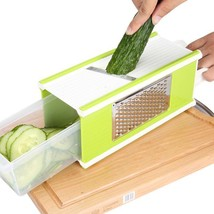 Vegetable Cutter Grater Sets Blades Peeler Stainless Steel Slicer Kitche... - €30,41 EUR