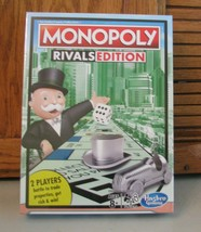 Monopoly Rivals Edition 2 Player Game Hasbro Gaming New Factory Sealed - $19.79