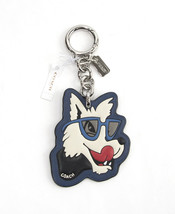 Coach Stacked Rubber Wolf Large Bag Charm Key Chain 58886 NWT - $27.50