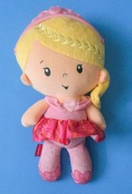 Fisher Price Chiming Princess Doll Lovey Plush Stuffed Toy Blonde Chimes... - $12.86