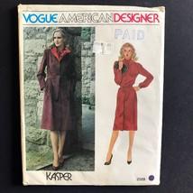 Vogue Kasper American Designer Coat Belt and Dress 2559 Pattern Size 12 ... - $8.78