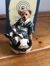 The Bearware Potteryworks le Bearmoge Collection Boyd's Bear on Soccer B... - $13.09