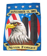 28 x 40 inch NEVER FORGET 9-11 GARDEN FLAG SEPTEMBER 11 911 USA 28x40 IN... - $20.00