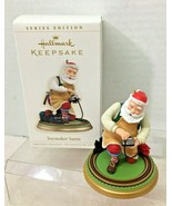 2006 Toymaker Santa #7 Hallmark Christmas Tree Ornament MIB w Price Tag - $39.11