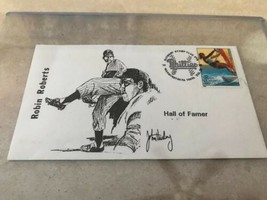 Feb 28 1996  Robin Roberts First Day Cover Envelope Hall Of Fame - $7.95