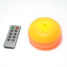 CANDLE CHOICE LED Pumpkin Light with Remote and Timer, Jack-O-Lantern Li... - $20.44